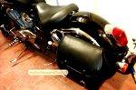 Honda Shadow Bigbag, zwart nerfleder, 40 L, J5901n