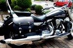 Yamaha Star met Classic 27 motortas, zwart, 2 x27L, G5501s