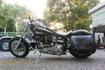 Harley Davidson Shovel FLH Bigbag, zwart nerfleder, 40 L, P7900