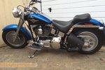 Harley Davidson Softail frametas, zwart, 10 L, F4060