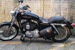 Harley Davidson Sportster frametas, zwart, 10 L, F4070