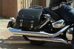Honda Shadow Classic tassenset, zwart, 2x27 L, G5501s
