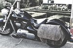 Motortas Bigbag, antiek leder, 1x40 L, P6900,