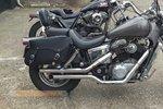 Motortas-set, zwart, 2x22L, E4000s