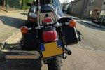 Motortas-set, zwart, 2x16L, D1000s