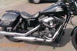 Harley Davidson Dyna Streetbob motortas, antiek, 2x13,5 L, C4080a