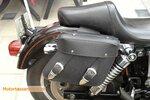 Harley Davidson Dyna motortas, zwart, 2x11 L, A5050