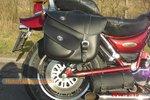 Suzuki Intruder VS2 motortas, zwart, 2x17 L, D1050s