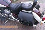 Yamaha Royal, Classic motortas, zwart nerfleder, 2x27L, G5501z