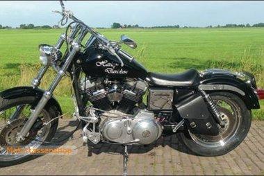 Harley Davidson Sportster, frametas, zwart, 6 L, F4080