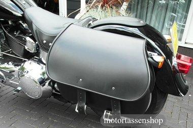Harley Davidson Softail met Bigbag, zwart, 40L, J5901s