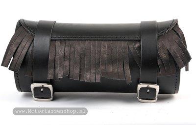 Toolrol, zwart, 10x13cm, T7010 met franje
