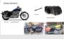 Harley Davidson Sportster Classic motortas, cognac, 2x25L, P5501c_